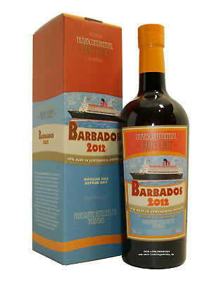 Barbados 2012 Transcontinental Rum Line 46,0% vol. - 0,7 Liter