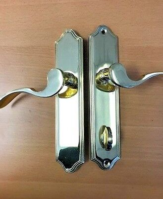 Superior, Series 9300 Brass Door Handle with Lock, Right Hand Side FREE SHIPPING
