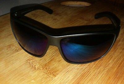 0f53418f5360b New Suncloud Councilman Polarized Sunglasses Matte Black Frame Blue  Polarized