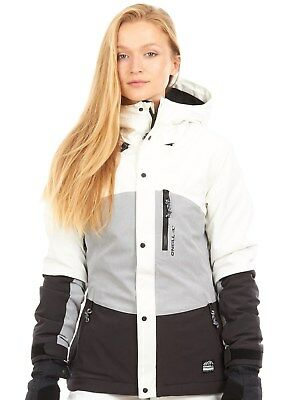Oneill Black Out Coral Womens Snowboarding Jacket