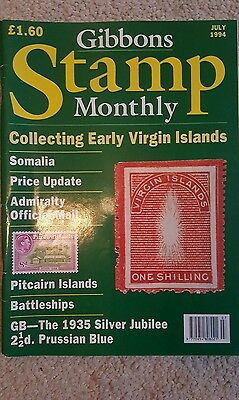 Gibbons stamp monthly July 1994