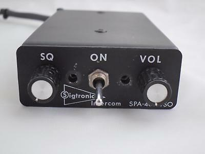 Sigtronics SPA-400 Intercom (p/n SPA-400)