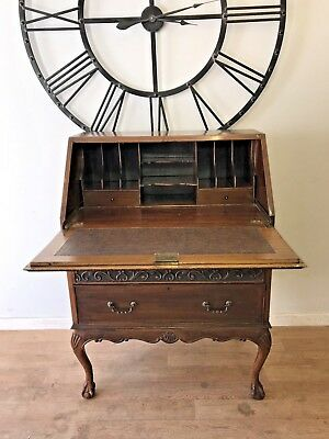 Queen Anne Antique Bureau, Writing Desk