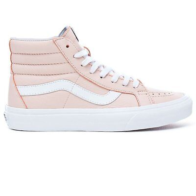 d35f6a61176 Chaussures Vans sk8-Hi Reissue (Leather) Oxfort EveninG Rose Femme