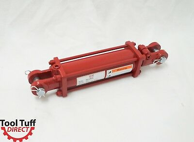 """Tie Rod Cylinder,  Hydraulic Double Acting, 3"""" Bore x 8"""" Stroke NPT Ports, 2500#"""