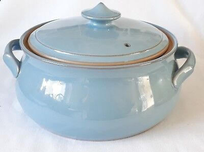 Denby Colonial Blue Casserole Dish / Serving Dish and Lid - Multiple Available
