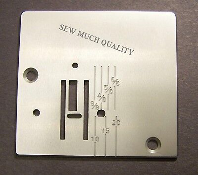 NEEDLE THROAT PLATE Zig Zag Janome NewHome TB12 Kenmore 385.10111 385.1011180 +