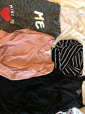 Lot Of 6 Pieces Maternity Clothes Size Medium