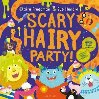 Scary Hairy Party by Claire Freedman Paperback Book Free Shipping!