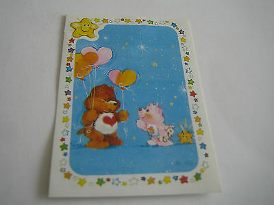 Vintage 1985 Panini Care Bear Sticker #184***american Greetings Corp***