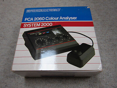 Paterson Darkroom PCA2060 Colour Analyser System 2000 (3580) nearly mint