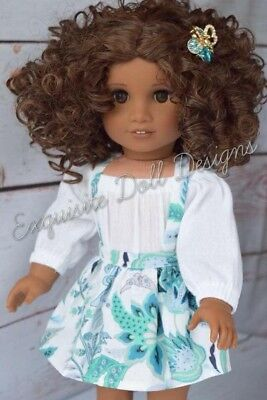 "11"" Custom Doll Wig for 18"" American Girl Dolls Gotz My Life OG Ooak Doll Wigs"