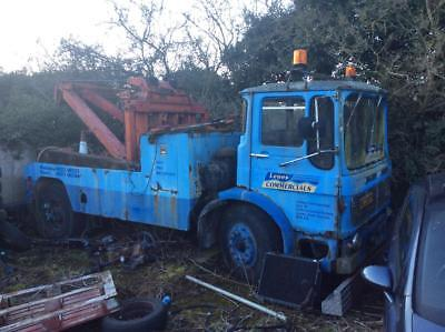 Leyland Beaver Recovery Vehicle For Restoration 1973