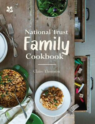 National Trust Family Cookbook by Claire Thomson Hardcover Book Free Shipping!