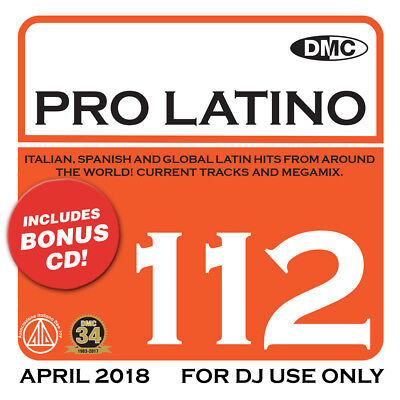 Dmc Pro Latino Vol 112 Brand New Dj Remix Service Mix 2Cd Set