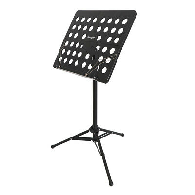 Adjustable Portable Music Stand Conductor Tripod Music Note Mount Holder
