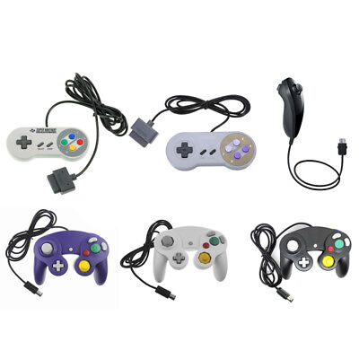 Nunchuck Nunchuk Game Video Controller Remote For Nintendo Wii Console GameCube