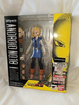 AUTHENTIC* S.H. Figuarts Dragonball Z Android 18 (Original) sealed