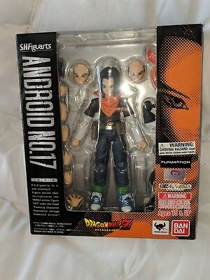 AUTHENTIC* S.H. Figuarts Dragonball Z Lot Android 17 (Original) sealed