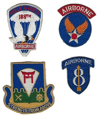Group of Miscellaneous Airborne patches