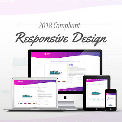 2018 Compliant Mobile Responsive Ebay Auction Listing Template Purpink Curves