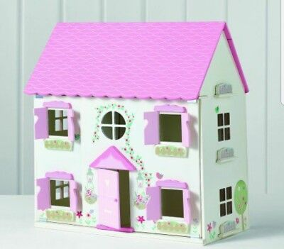 Spark Create Imagine Pink Wooden Dollhouse 60 00 Picclick