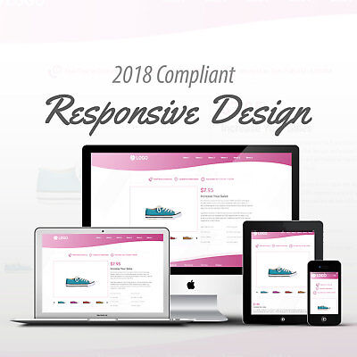2018 Compliant Mobile Responsive Ebay Auction Listing Template Blossom Curves