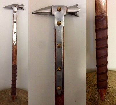 Medieval Italian 14th century Foot Soldiers War Hammer Armour Sword
