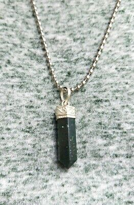 Bloodstone Crystal Necklace /Bloodstone Crystal Pendant / Bloodstone Crystal