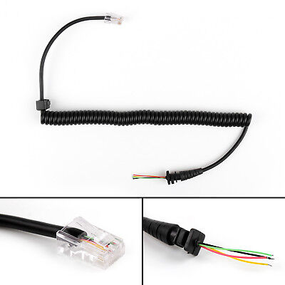8PIN 4 Wire Speaker MIC Cable Line For Motorola ICOM GM950/300 KENWOOD TM-261 AU