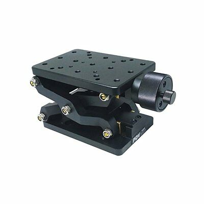 Z Axis Precise Manual Lift Platform Lab Jack Elevator Optical Sliding Lift 60mm