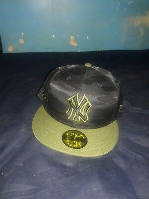a3e1792a77c New York Yankees New Era 2018 Memorial Day On-Field 59FIFTY Fitted Hat –  Black