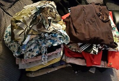 Job Lot Of Ladies Womens Clothes Tops Skirts Dresses Shorts 32 items