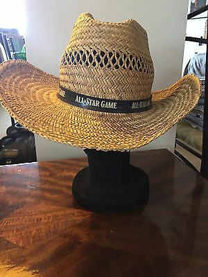 Mlb Baseball Sale - All Star Game Straw Cowboy Hat - Sz S-M - 2 X Available