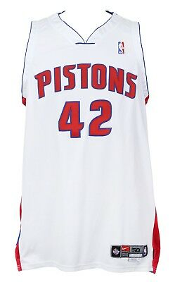 NBA Trikot Detroit Pistons Jerry Stackhouse Jersey weiß Authentic Basketball