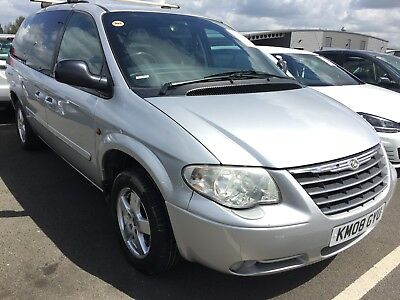 08 Chrysler Grand Voyager 2.8 Crd Executive Xs **7 Seat, Leather, 2 F/r Owners**
