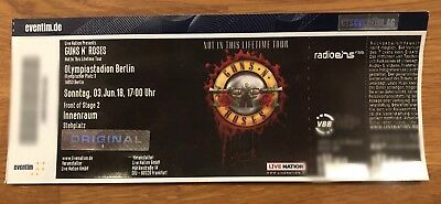 Guns n' Roses Ticket, Front of Stage 2, Berlin (Unter Originalpreis!)