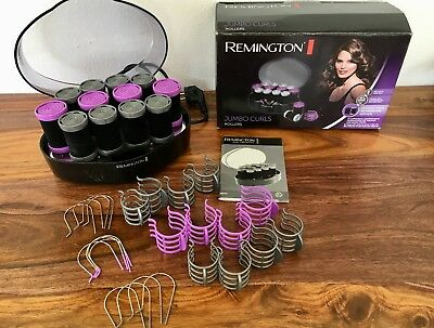 Remington Lockenwickler Jumbo Curls elektrische heiß wickler neu
