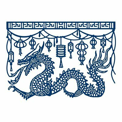 Tattered Lace East Meets West DRAGONBOAT FESTIVAL Craft Cutting Die - 442265