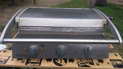 Roband Contact Grill 8 Slice - high speed contact grill