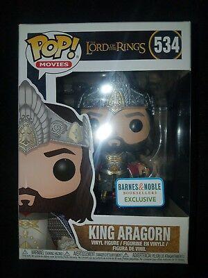 Funko Pop! Lord of the Rings - King Aragorn Pop! Vinyl Figure IN HAND Same Day