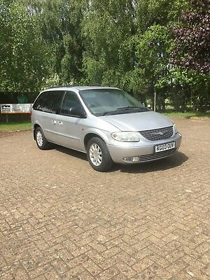 chrysler voyager 7seater auto