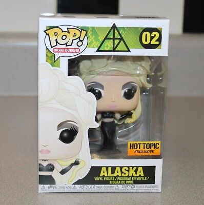 Funko Pop! Drag Queen ALASKA Hot Topic Exclusive ROUND 2 - IN HAND! NM to M