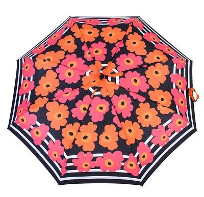 Knirps Belami Folding Telescopic Umbrella Automatic Open & Close Poppy Print