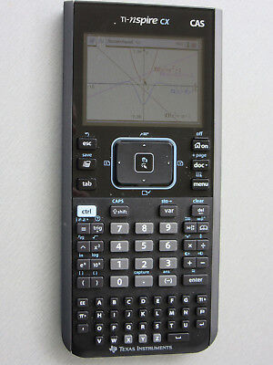 TI-Nspire CX CAS Texas Instruments Grafikrechner Color-Display inkl. Software