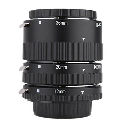 Meike-N-AF1-B Auto Focus Macro Extension Tube Set Ring for Nikon M6L3