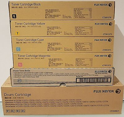 Genuine Fuji Xerox Toners & Drum For C2270,c2275,c3370,c3371,c3373,c3375,c4475