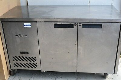 Williams Under-Counter Double Door Stainless Steel Commercial Refrigerator