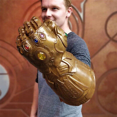 Avengers 4 EndGame War Thanos Infinity Gauntlet Gloves Cup Cosplay Prop
