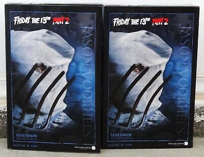Sideshow Friday The 13Th Part 2 Jason Voorhees Sixth Scale Figure Lot Set Of Two